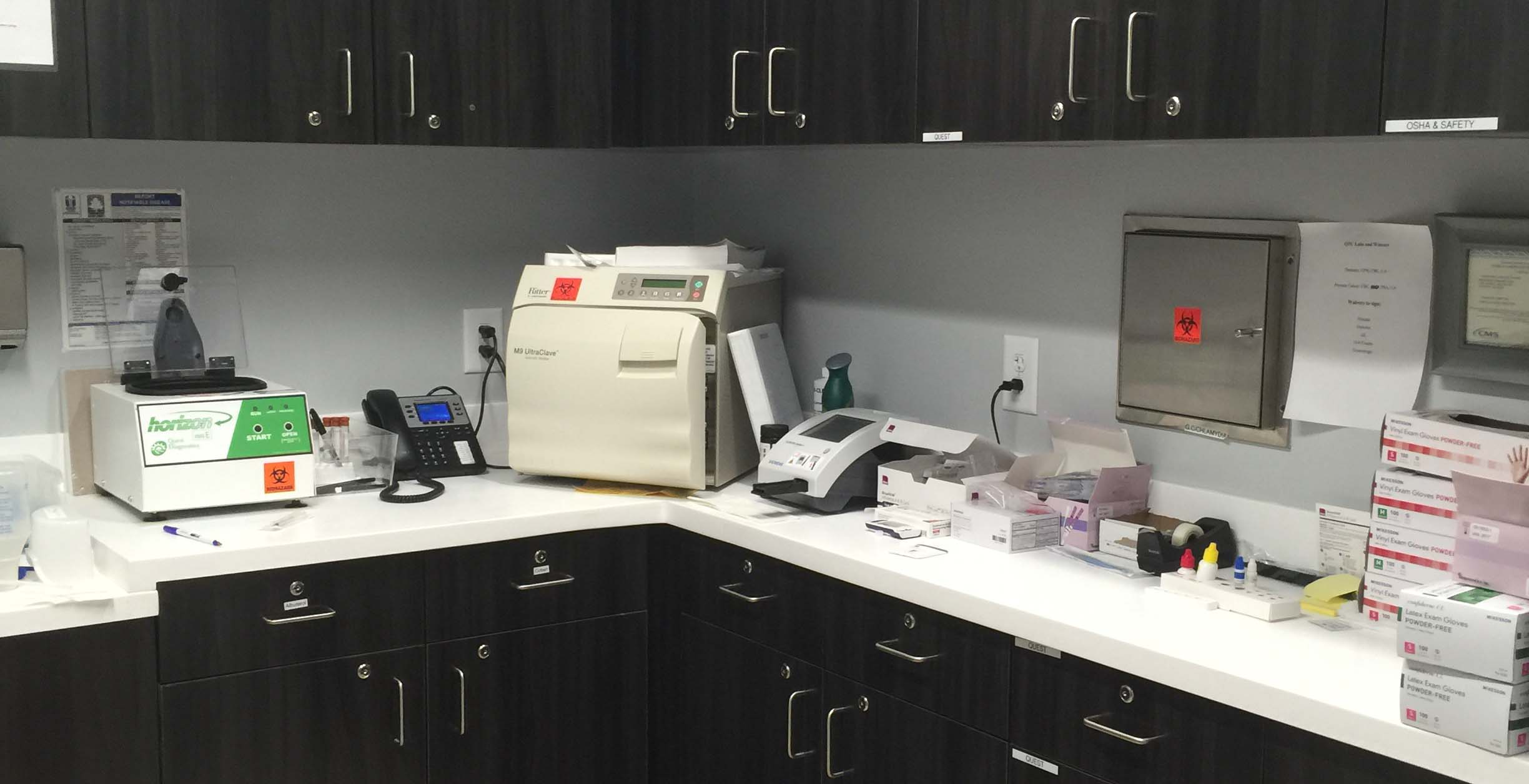 Atlanta Primary And Urgent Care Clinic on-Site Laboratory Services