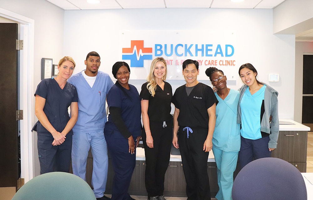 Buckhead Clinic board-certified primary care providers and experienced staff